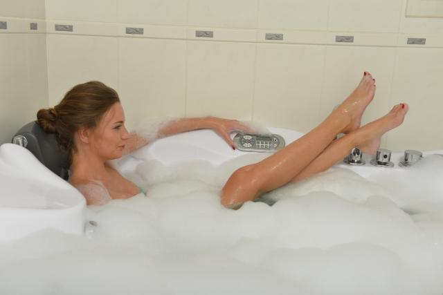 夏 お風呂