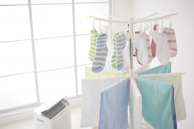 洗濯物 干し方