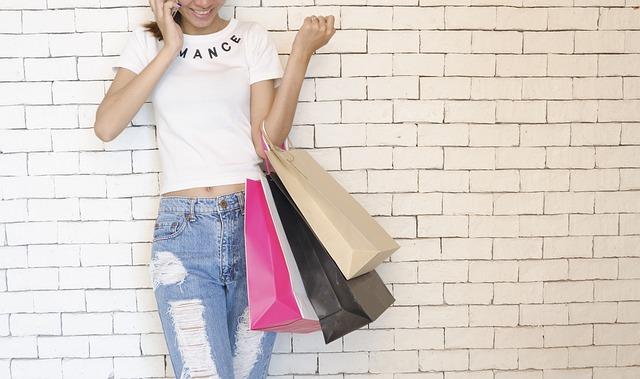 紙袋,ファッション