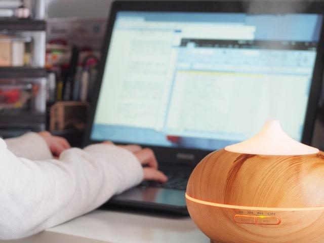 小型加湿器_オフィス