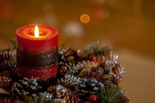 クリスマス_蝋燭