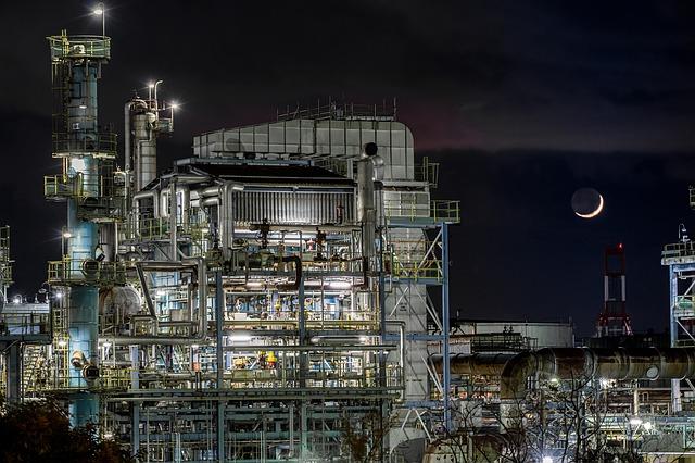 工業地帯_夜景